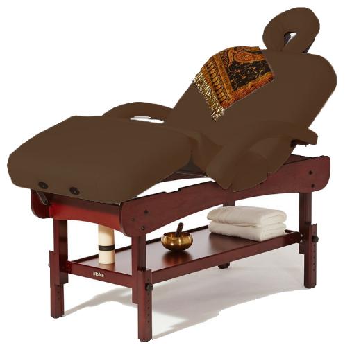 Table luxe marron